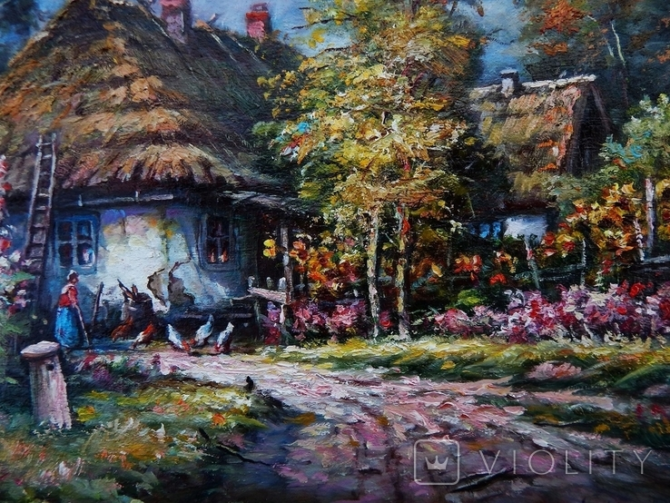 """Ukrainian landscape"" 42 x 30 2020, фото №6"