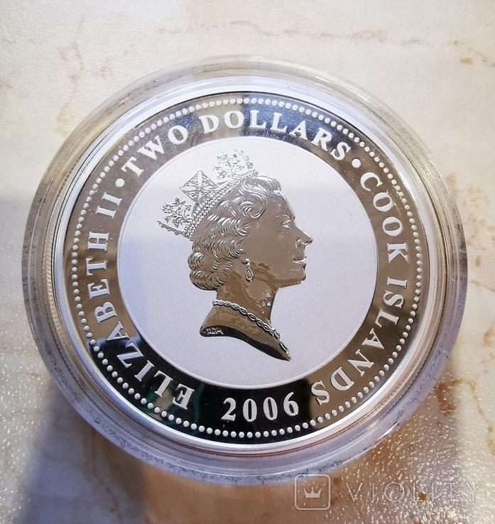 2 доллара 2006 Александр Блок, фото №4