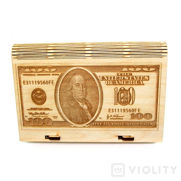 Шкатулка *Доллар*, фото №2