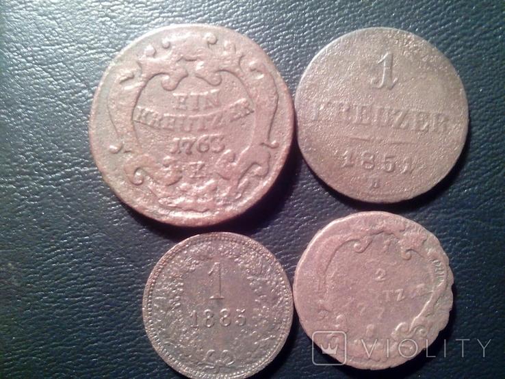 Монеты Австро- Венгрии., фото №2