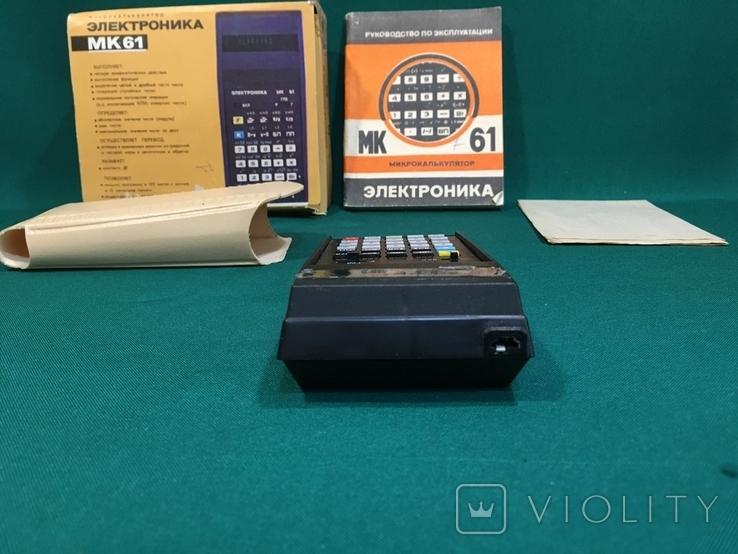 Микрокалькулятор Электроника МК-61, фото №4