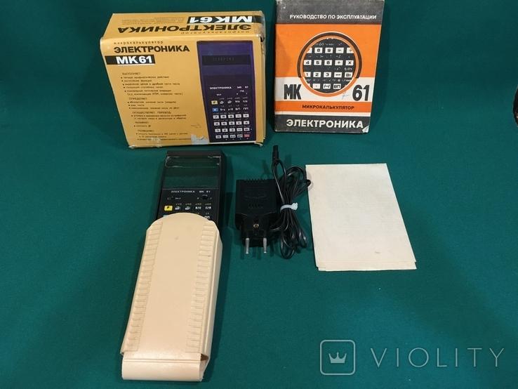 Микрокалькулятор Электроника МК-61, фото №8