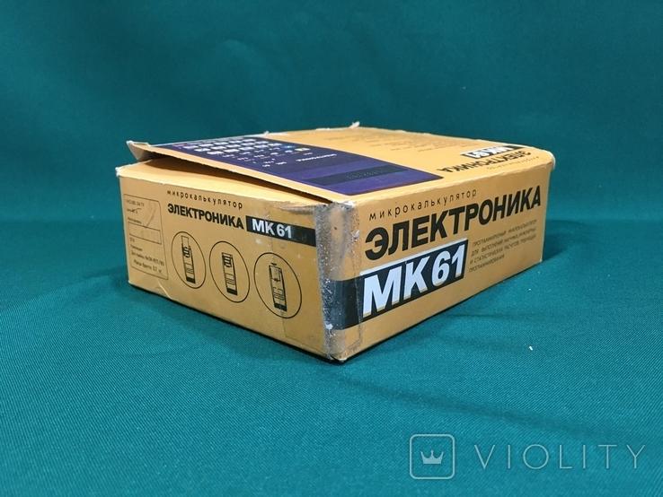 Микрокалькулятор Электроника МК-61, фото №12