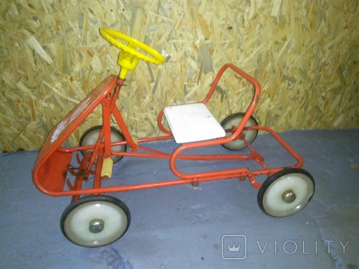 Картинг СССР Педальная машинка, фото №3