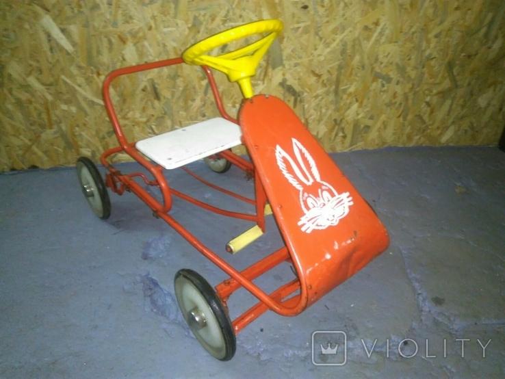 Картинг СССР Педальная машинка, фото №2