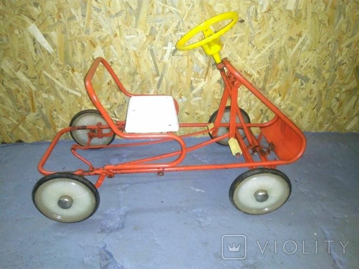 Картинг СССР Педальная машинка, фото №6