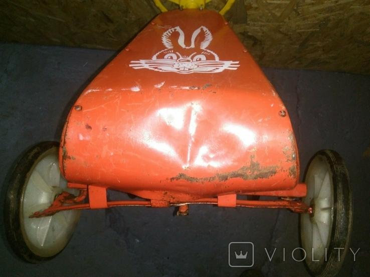 Картинг СССР Педальная машинка, фото №12