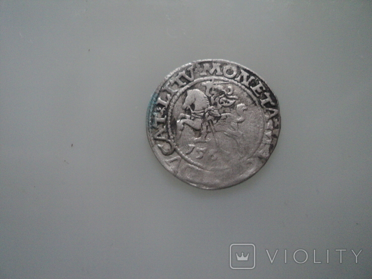 Полугрош 1563, фото №4