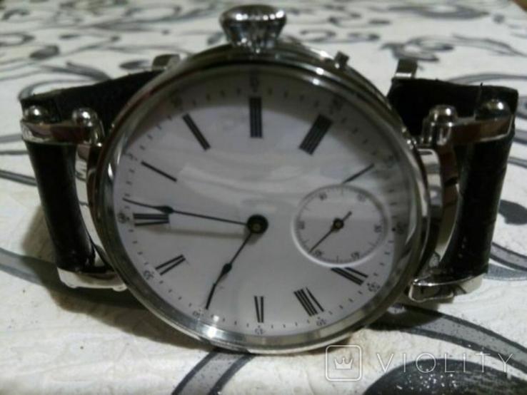 Швейцарские часы с механизмом Le Coultre .1910 г, фото №2