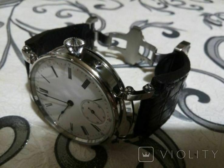 Швейцарские часы с механизмом Le Coultre .1910 г, фото №8