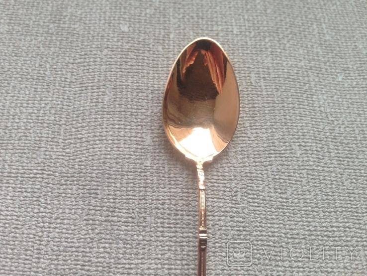 Золотая ложечка 585 пробы., фото №6