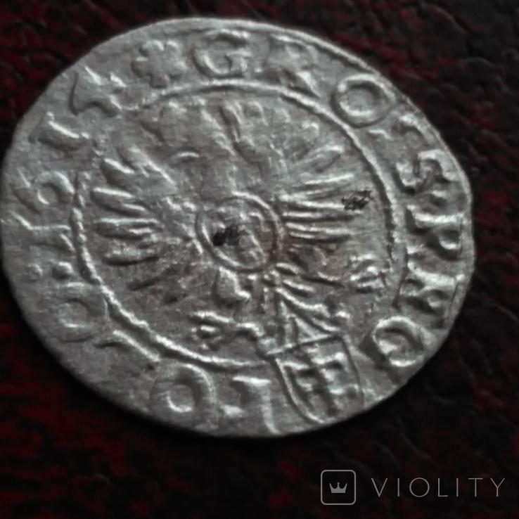 Грош  1614 року., фото №3