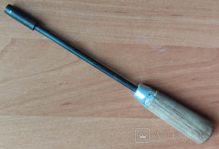 Торцовый ключ-отвёртка 7 мм., фото №3