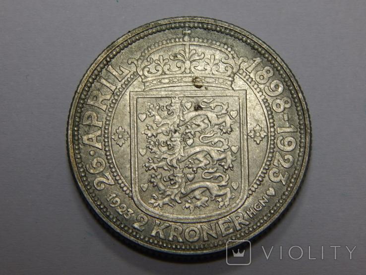 2 кроны, 1923 г Дания, фото №2