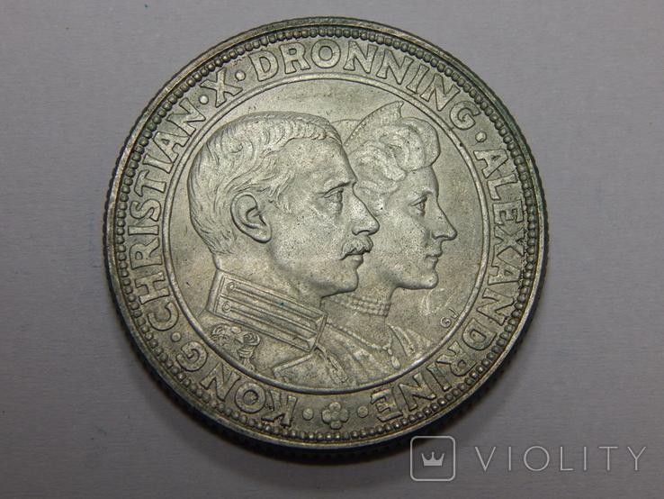 2 кроны, 1923 г Дания, фото №3