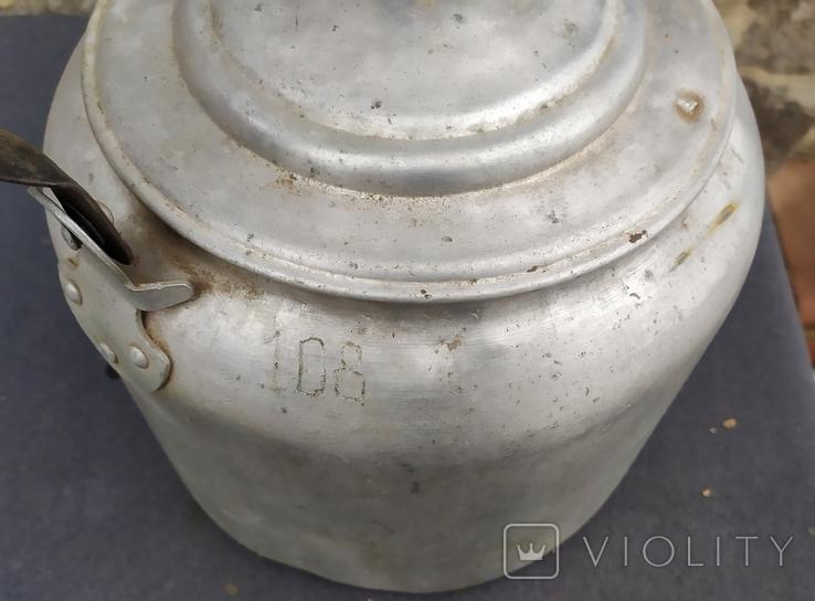 Чайник армейский.6 литров., фото №4