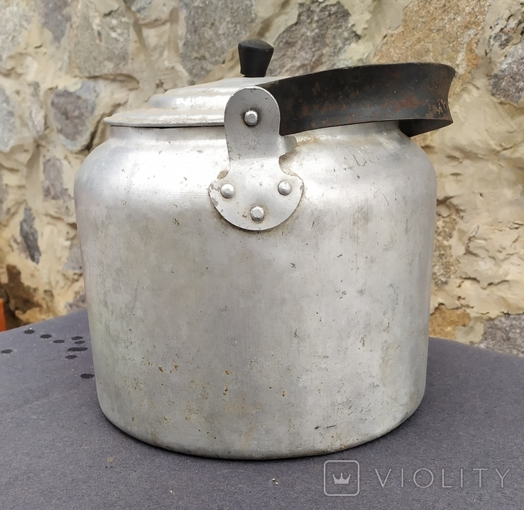 Чайник армейский.6 литров., фото №6
