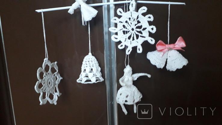 """В""""язані новорічні прикраси, фото №11"""