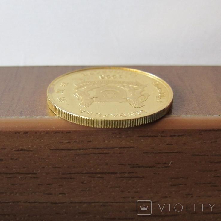 25 долларов 1993 г. Сингапур (1/4 oz. 999,9), фото №6