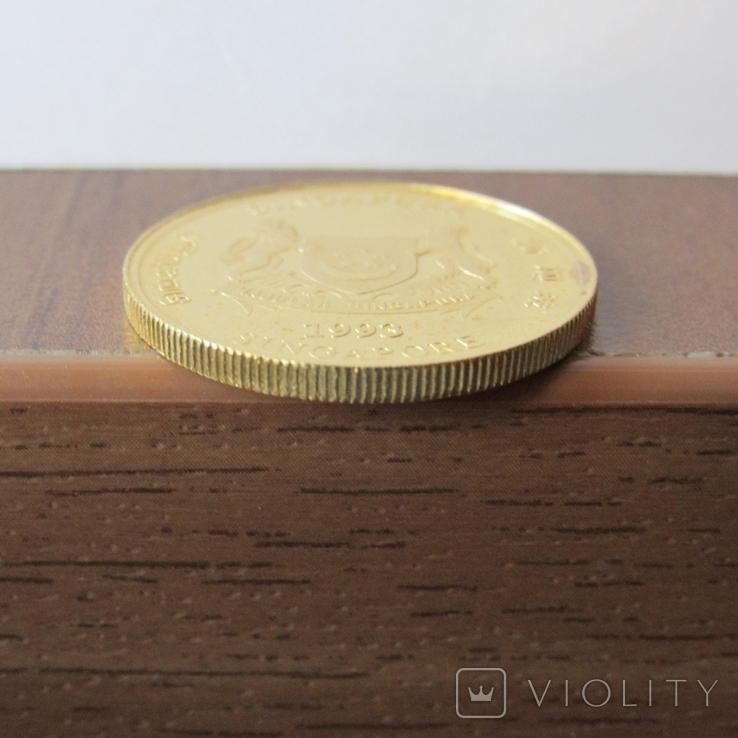 25 долларов 1993 г. Сингапур (1/4 oz. 999,9), фото №8