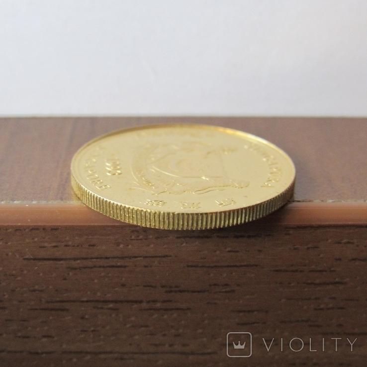 25 долларов 1993 г. Сингапур (1/4 oz. 999,9), фото №9