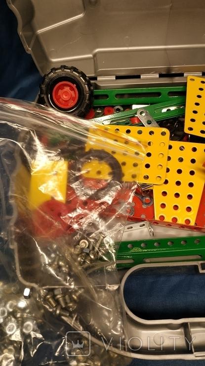 Детский конструктор, металлический., фото №6