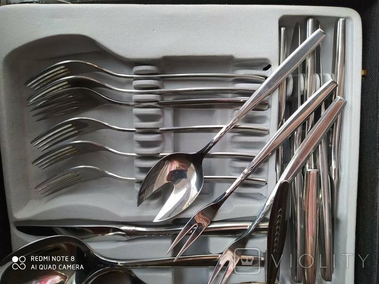 Комплект приборов WMF  в чемодане Германия 25 предметов, фото №6