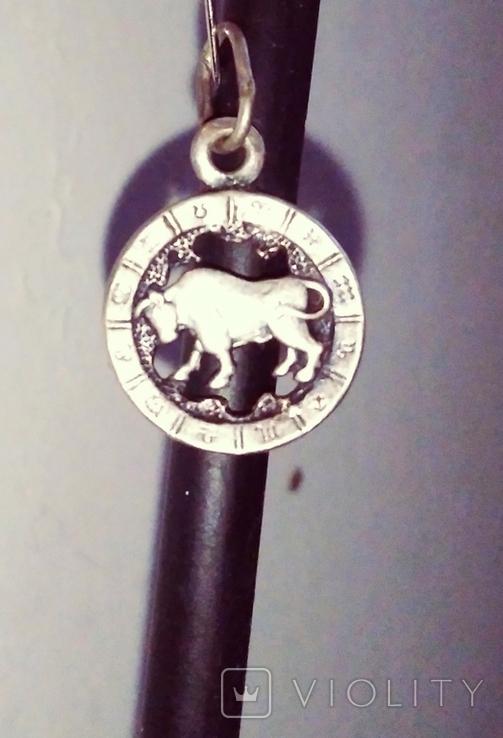Знак зодиака Бык-Телец в отличном состоянии., фото №5