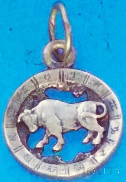 Знак зодиака Бык-Телец в отличном состоянии., фото №6
