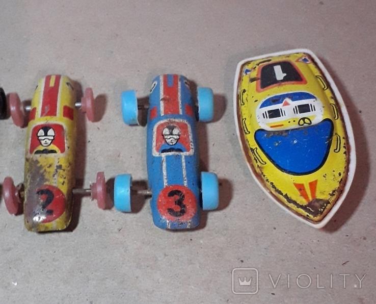 Гоночные машинки СССР  5 шт. Одним лотом, фото №3