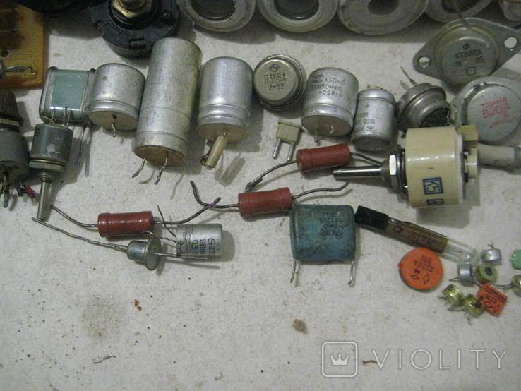 Радиодетали разные, фото №4