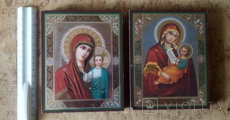 """Две иконы """"Казанская Божья матерь"""" и """"Утоли мои почали"""", фото №2"""