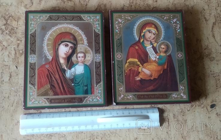 """Две иконы """"Казанская Божья матерь"""" и """"Утоли мои почали"""", фото №3"""