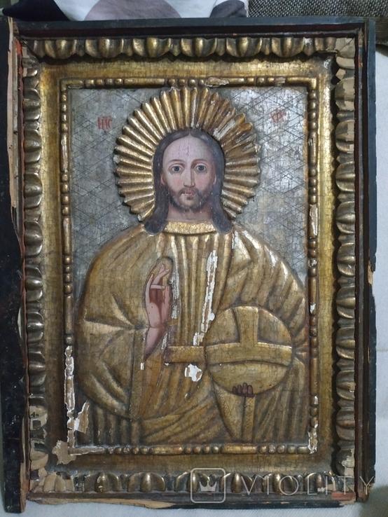 Икона Спаситель  18в., фото №2