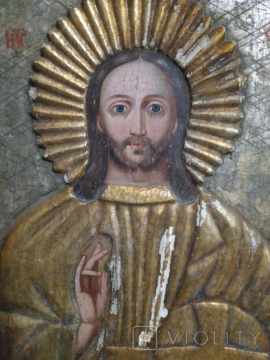 Икона Спаситель  18в., фото №3