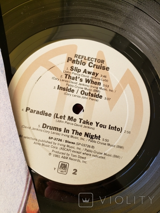 "Vinyl.  Jazz, Rock. ""Pablo Cruise – Reflector"", фото №5"