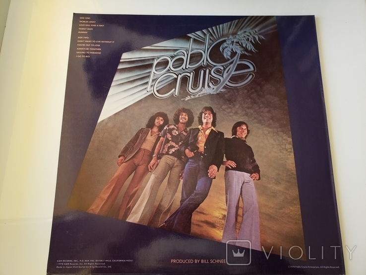 "Vinyl. Rock. ""Pablo Cruise ‎– Worlds Away"", фото №5"
