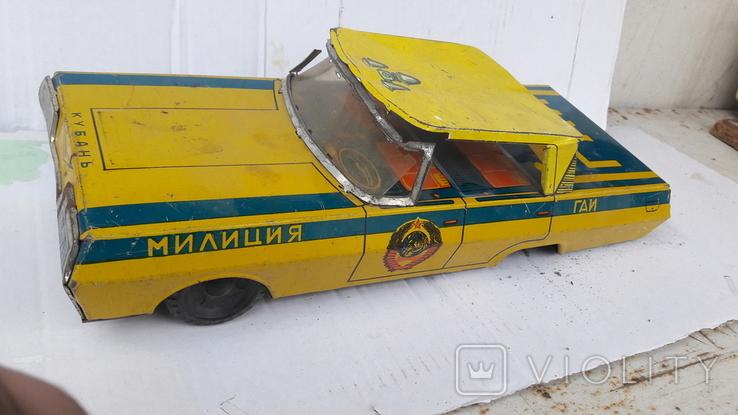 Машинка  Гаи   милиция. ( метал .СССР), фото №2