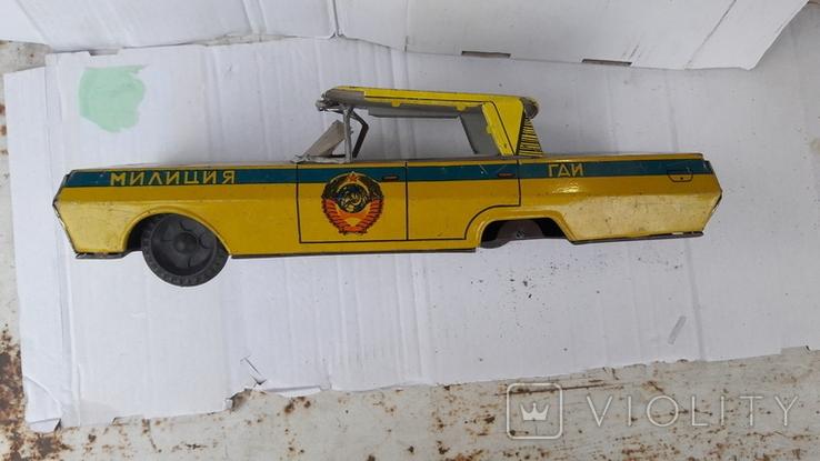 Машинка  Гаи   милиция. ( метал .СССР), фото №5