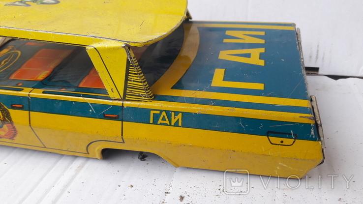 Машинка  Гаи   милиция. ( метал .СССР), фото №6