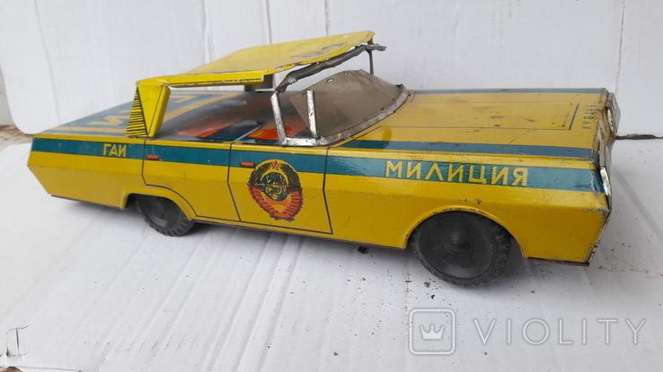 Машинка  Гаи   милиция. ( метал .СССР), фото №10
