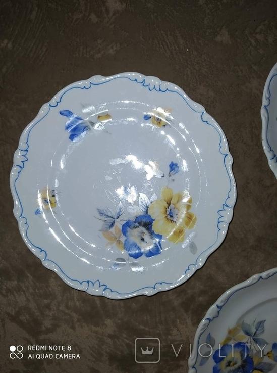 Тарелки Фарфор Германия Schoenau 6 штук, фото №9