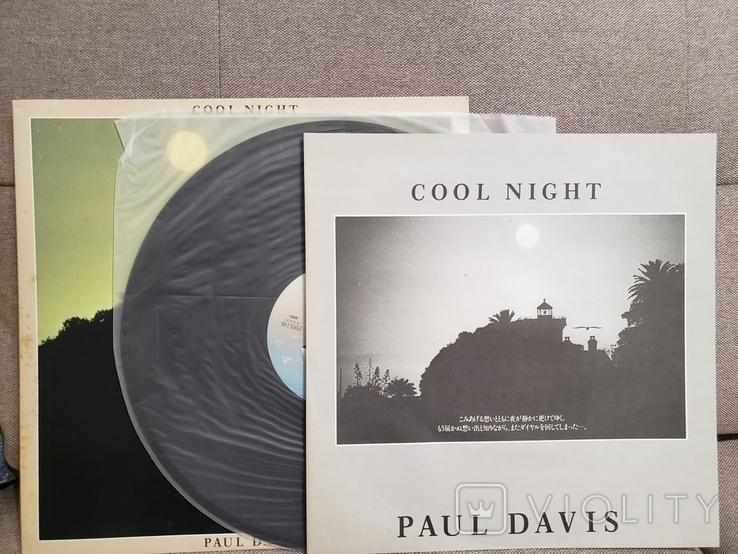 "Vinyl. Rock, Funk / Soul. ""Paul Davis – Cool Night"", фото №2"