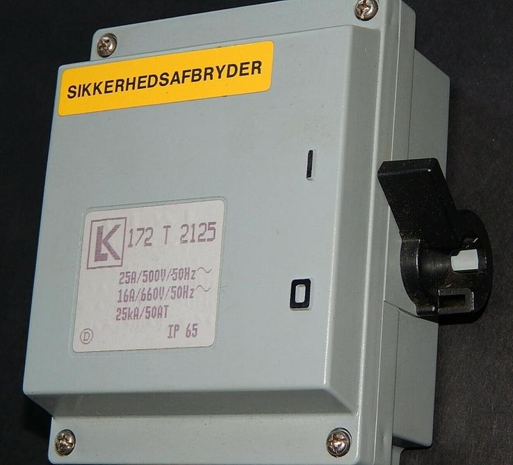 Электрокомплект влаго пыле водо защитный для гаража и дачи, фото №2