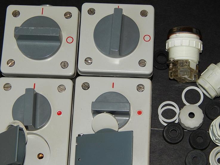 Электрокомплект влаго пыле водо защитный для гаража и дачи, фото №10