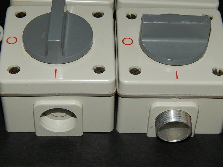 Электрокомплект влаго пыле водо защитный для гаража и дачи, фото №11