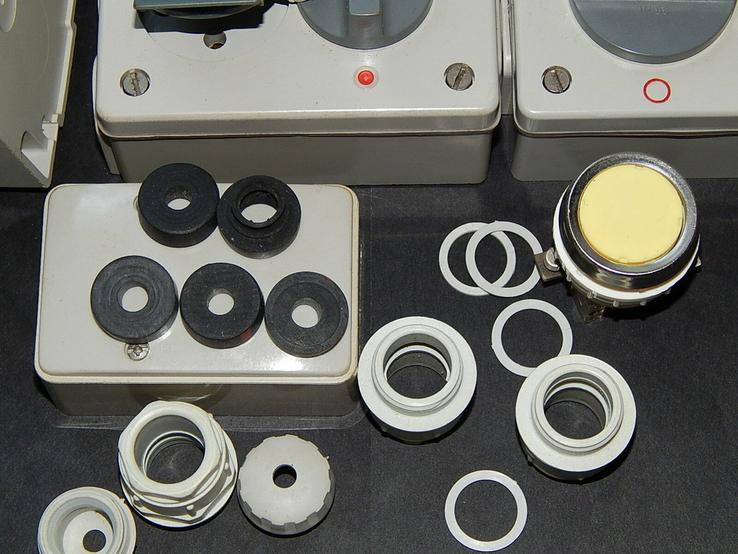 Электрокомплект влаго пыле водо защитный для гаража и дачи, фото №12