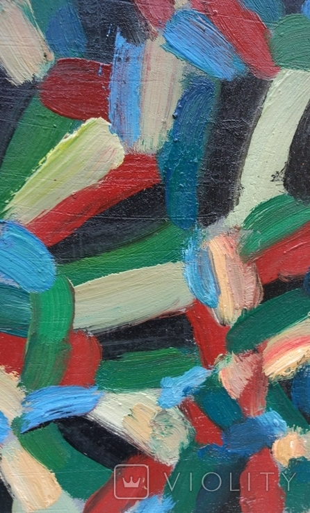 """Одесса, Р.Фарапонов""""Настроение"""", орг.м.44,5*68см., фото №11"""