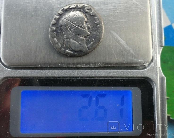 Денарий, Веспасиан, жертовный набор., фото №5