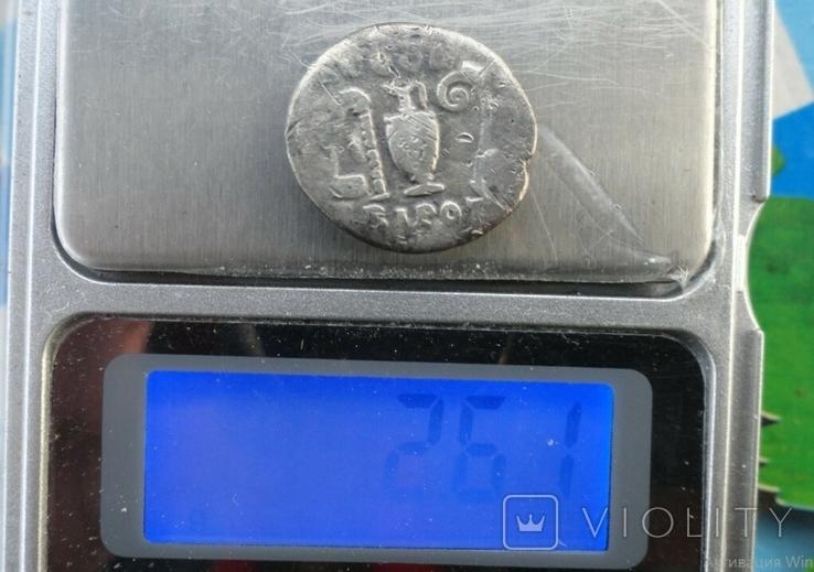 Денарий, Веспасиан, жертовный набор., фото №6
